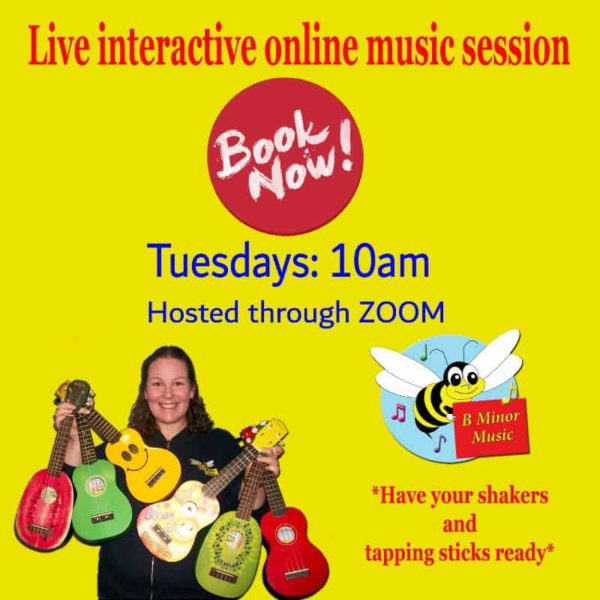 B MINOR MUSIC KIDS CLASS TUESDAY