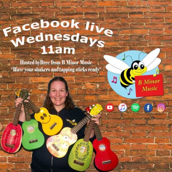 B MINOR MUSIC KIDS CLASS FACEBOOK LIVE WEDNESDAYS