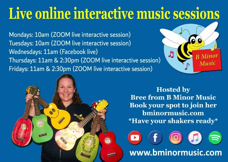 B MINOR MUSIC LIVE INTERACTIVE